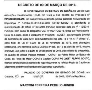 decreto promoção.